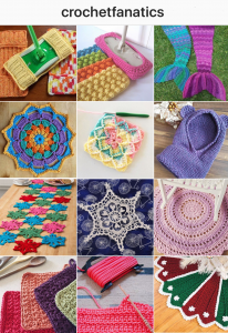 Follow Crochet Fanatics on Instagram