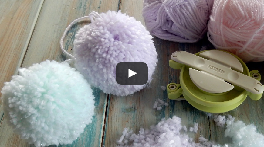 The Secret to Making a Fluffy Pom Pom