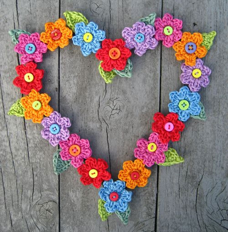 Free Valentine's Crochet Heart Patterns