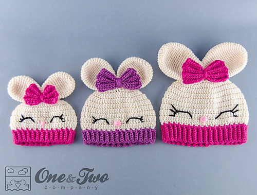 Bunny Crochet Hat Pattern