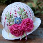 Spring Easter Crochet Hats and Bonnets