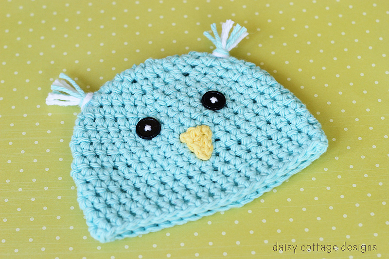Crochet Chick Easter Hat Pattern