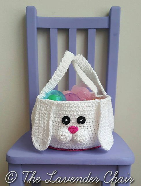 Free Crochet Easter Basket Pattern
