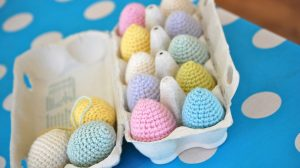 Free Crochet Easter Egg Projects