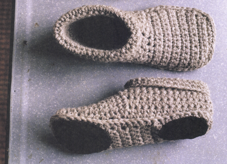 Chunky Crochet Slipper Boots - Erika Knight