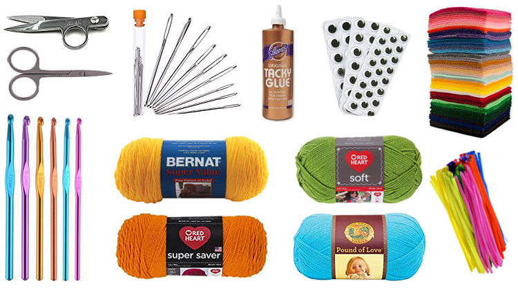 Crochet Supplies List
