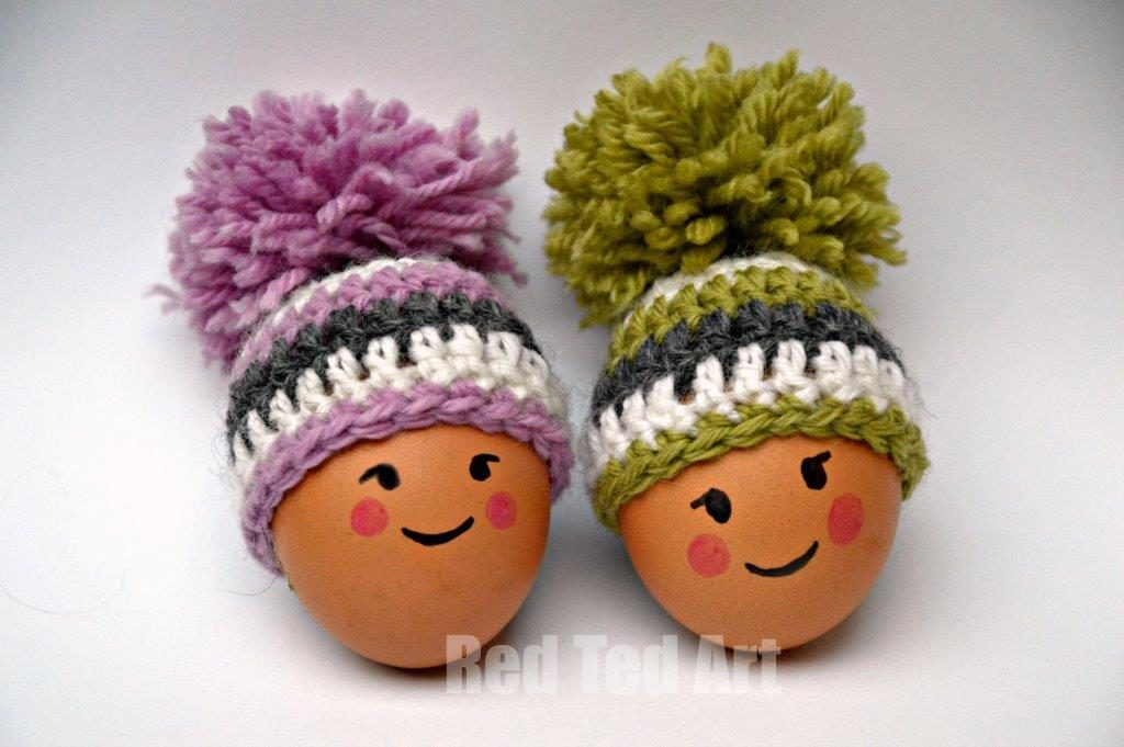 Free Crochet Egg Cosy Easter Pattern