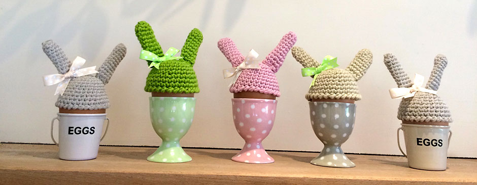 Easter Egg Crochet Cozies