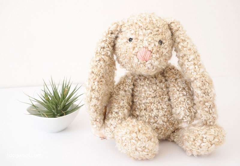 Floppy Ear Easter Bunny Free Crochet Patterns