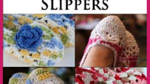 Easy To Crochet 2 Hour Slippers Patterns