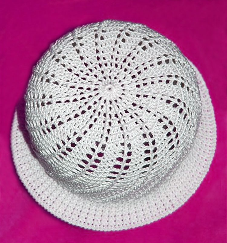 Spiral Crochet Hat Pattern
