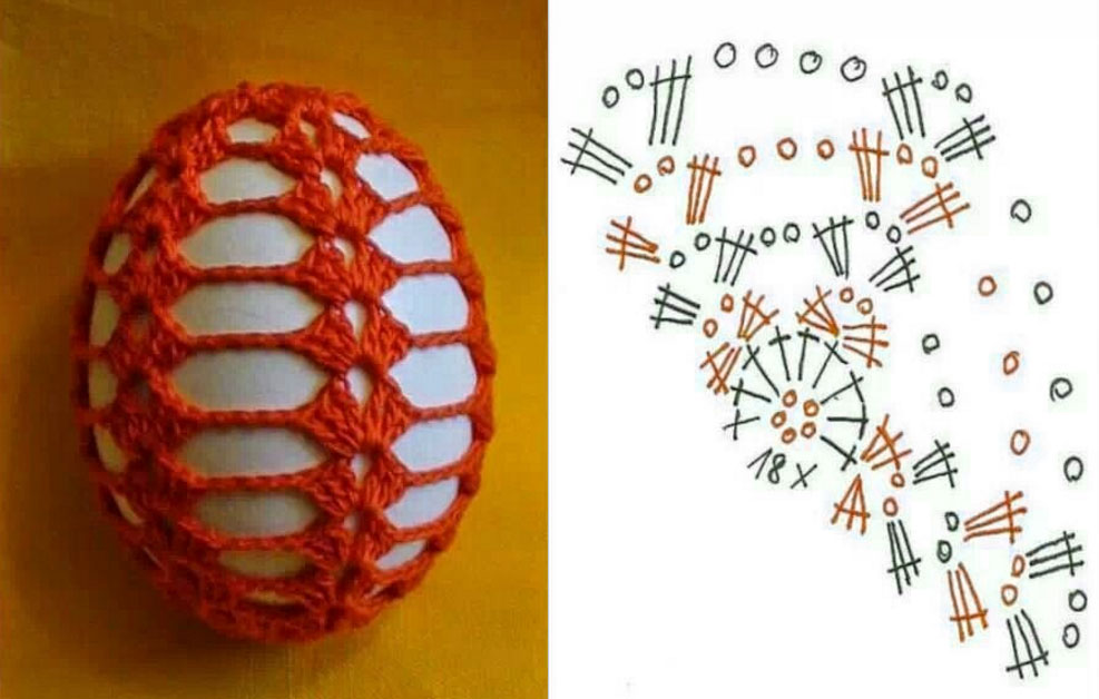 Free Art Deco Easter Crochet Eggs Patterns