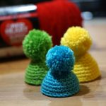 Tiny Crochet Hats for Plastic Easter Eggs