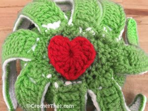 How to Crochet a Heart Motif