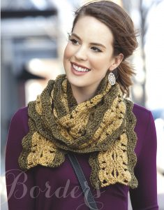 Mirror Image Crochet Scarves by Leisure Arts
