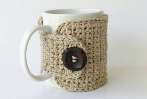Crochet Coffee Mug Warmer Cozy