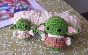 Baby Yoda Amigurumi Crochet YouTube Pattern
