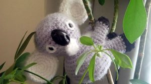 "Free Koala ""Bear"" Amigurumi Crochet Patterns"